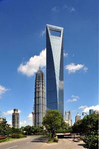 Շանկհայ Ուըրլտ Ֆայնենշըլ սենթըր - Բարձրութիւն` 492 մեթր - Քաղաք` Շանկհայ (Չինաստան) - Կառուցման աւարտ` 2008