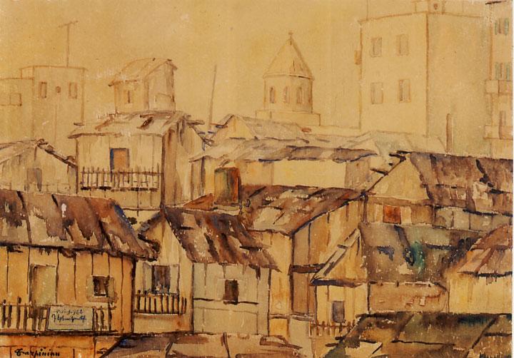 «Դերձակատուն` հին Պուրճ Համուտի մէջ»