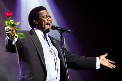 Al Green performs at Festival First Night