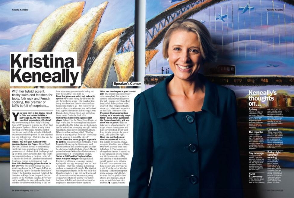 Time Out Sydney - Kristina Keneally