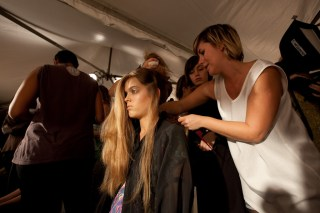 Friedrich Gray backstage