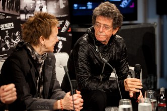Lou Reed and Laurie Anderson press conference