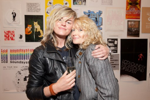 Lisa Gunning and Alison Goldfrapp