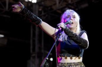 Austra - Laneway Festival Brisbane 2012