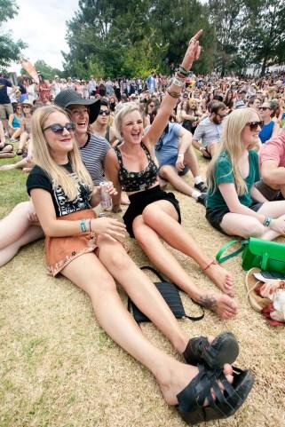 Laneway Festival Melbourne 2012