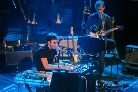 Sufjan Stevens and Bryce Dessner perform Planetarium