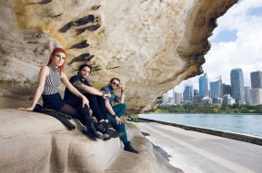 Paramore at Mrs Macquarie's Chair in Sydney