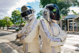 Daft Punk album launch party at Wee Waa Show