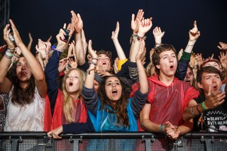 Crystal Fighters crowd