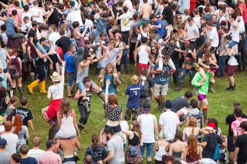 Leeds Festival Crowd