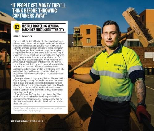 Sydney Garbo Daniel Banovich's Big Idea