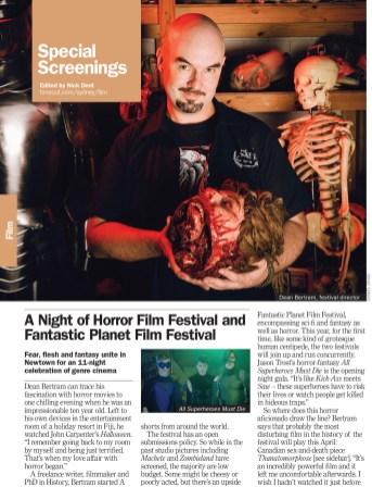 Horror Film Festival Director