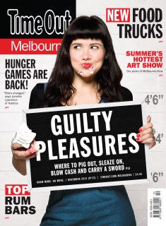 Time Out Melbourne November cover