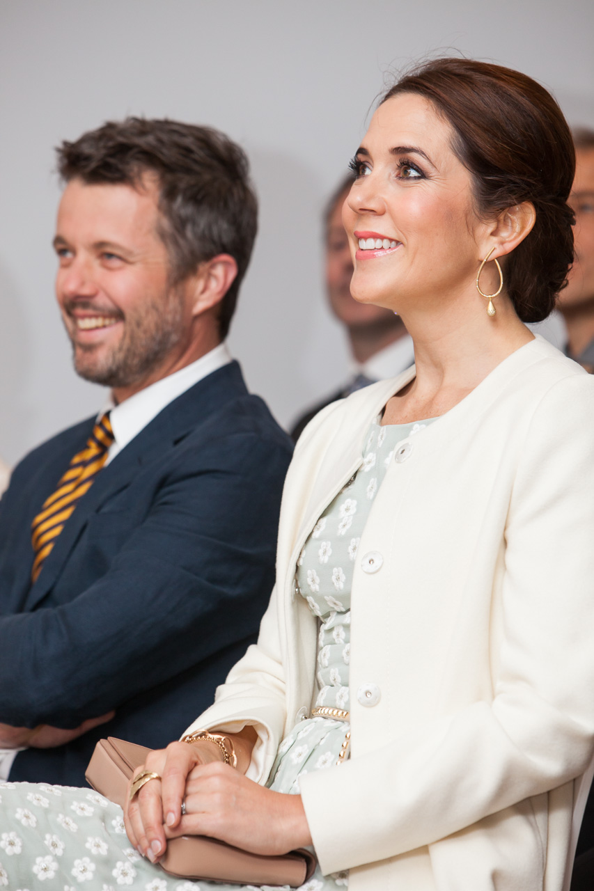 Crown Prince Couple at Danish Design at the House