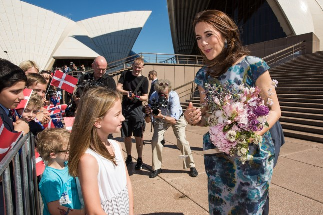 Crown Prince Couple visit Sydney Opera House