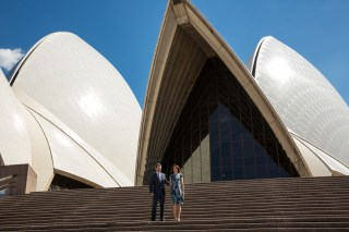 Crown Prince Couple visit Sydney Opera House