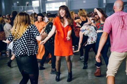 The Julie Ruin inspired dancing