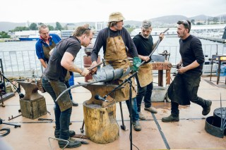Blacksmiths & Nick Smithies - MONA FOMA Tasmania
