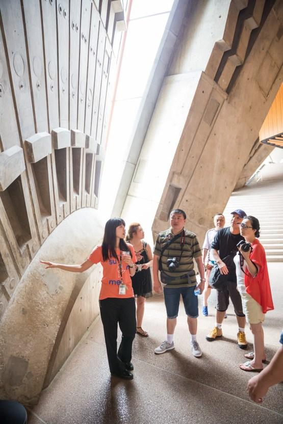 A Chinese language tour of Sydney Opera House