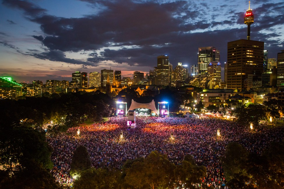 Summer Sounds in the Domain 2014