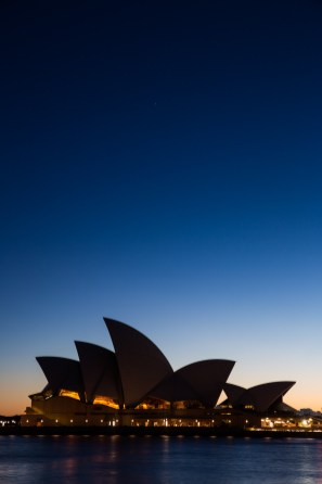 Dawn at Sydney Opera House