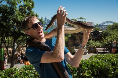 Tony Hawk at Taronga Zoo