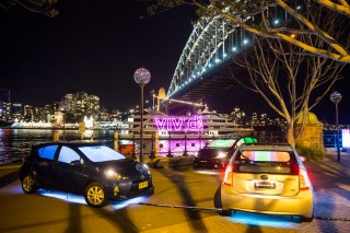 Vivid Sydney 2014 : Cars That Feel