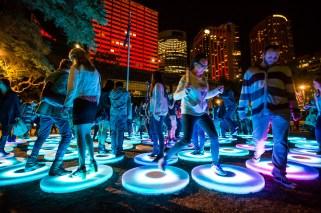 Vivid Sydney 2014 : The Pool