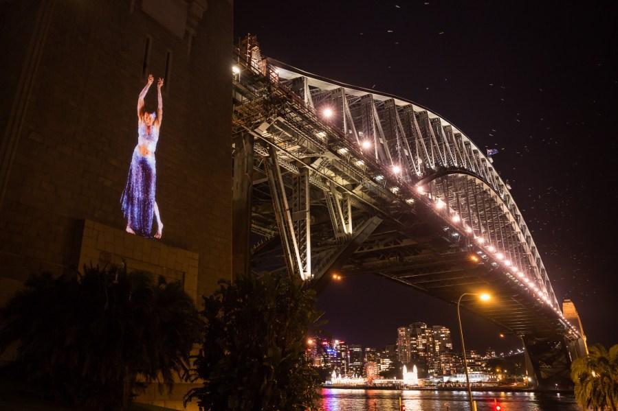 Vivid Sydney 2014 : The Spirit of Patyegarang