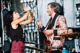 : Adalita and You Am I - Triple J's Beat the Drum concert The Domain Sydney