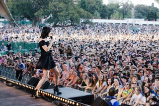 : The Preatures - Triple J's Beat the Drum concert The Domain Sydney