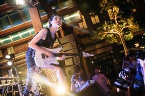 Brisbane Laneway Festival 2015 : St Vincent RNA Showgrounds Brisbane