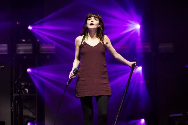 : Chvrches - Laneway Festival Sydney 2016 Sydney College of the Arts Rozelle