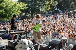 : DIIV - Melbourne Laneway Festival 2016 Footscray Melbourne