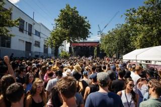 : Dean Turner Stage - Melbourne Laneway Festival 2016 Footscray Melbourne