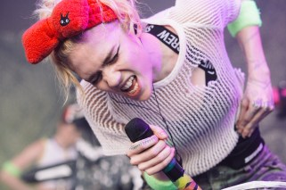 : Grimes - Laneway Festival Sydney 2016 Sydney College of the Arts Rozelle