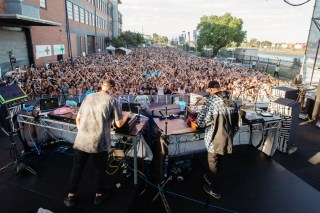 : Hermitude - Melbourne Laneway Festival 2016 Footscray Melbourne
