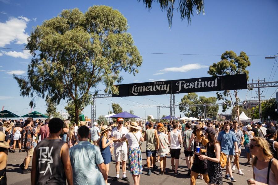 : Melbourne Laneway Festival 2016 Footscray Melbourne