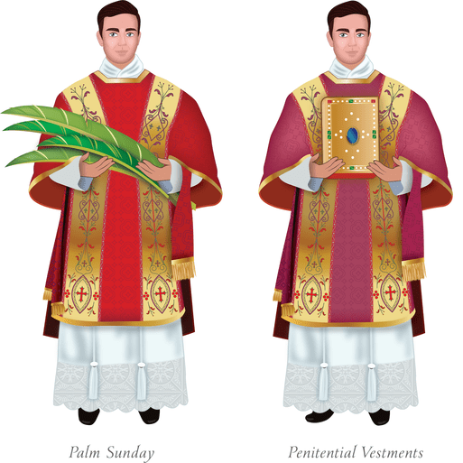 078 Catholic Vestments Solemn Mass