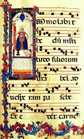 165 ad orientem manuscript