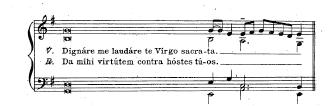 1907 Vespers of B.V.M. Accompaniment