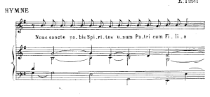 Modal Accomp. of Gregorian Chant