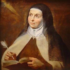 St Teresa of Avila by P P Rubens