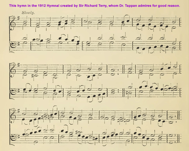 4632 Sir Richard Terry HYMNAL