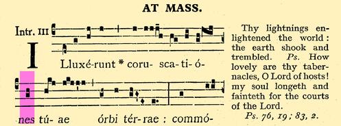 4797 Mass & Vespers 1957