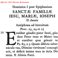 481 Official 1962 Missal