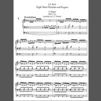 488 Bach C Major Prelude