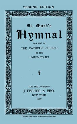 500 Saint Mark's Hymnal 1911