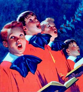 5382 Choir Boys Singing