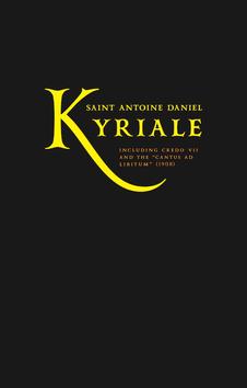 82885 (KOVER) Antoine-Daniel-Kyriale-ORDINARIUM-MISSAE